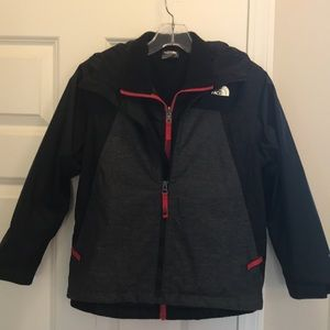 Boys North Face 3-in-1 jacket